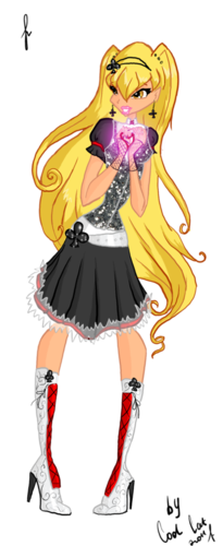 Журнал Winx Волшебные поиски феи №2 и игра макияж для Эмо!