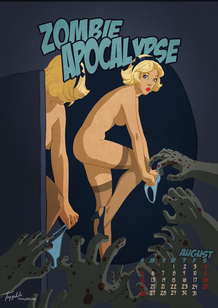 Pin-Up календарь на последний год - Apocalypse Tomorrow 2012