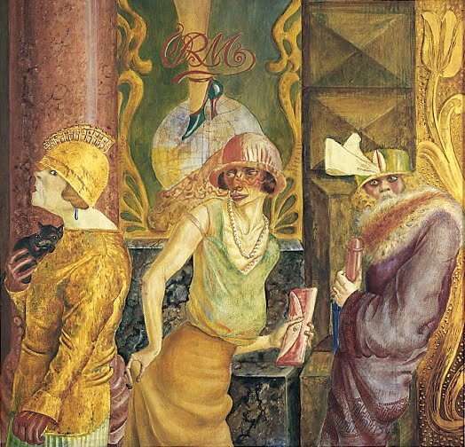 Otto Dix, Three Prostitutes