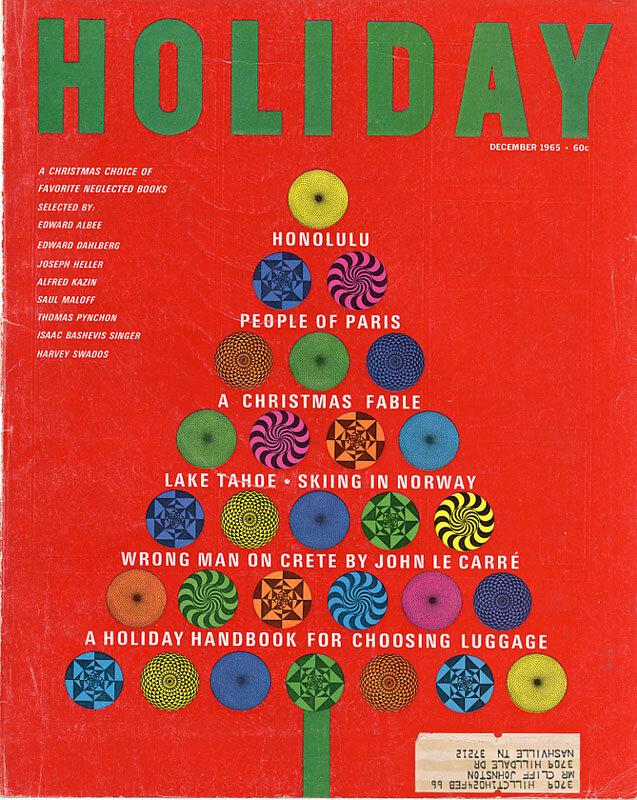 Holiday Magazine.December 1965
