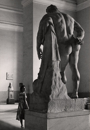 Flirt with Hercules Borghese, Naples, 1961