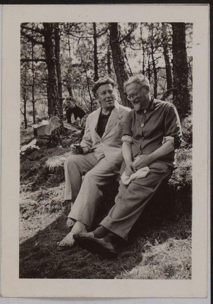 Andre Breton and Léon Trotsky 1938