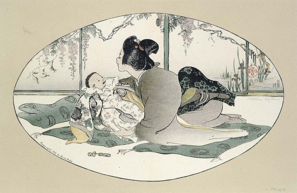 Baby Talk 1908 Helen Hyde