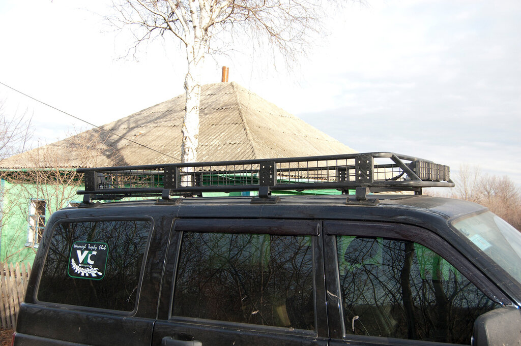 Багажник на крышу на уаз патриот