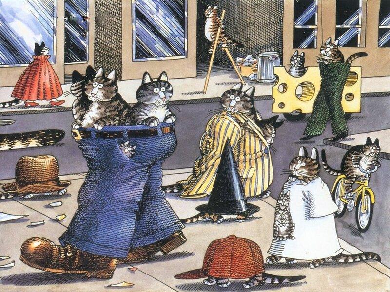 Кошачья жизнь