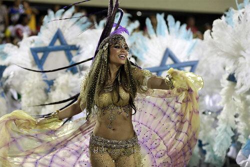 Королевы карнавала в Рио