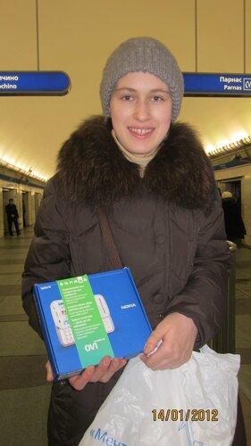 Маша М. Телефон Nokia c6 белого цвета