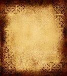Роскошные золотые винтажные фоны и текстуры Vintage background 2.