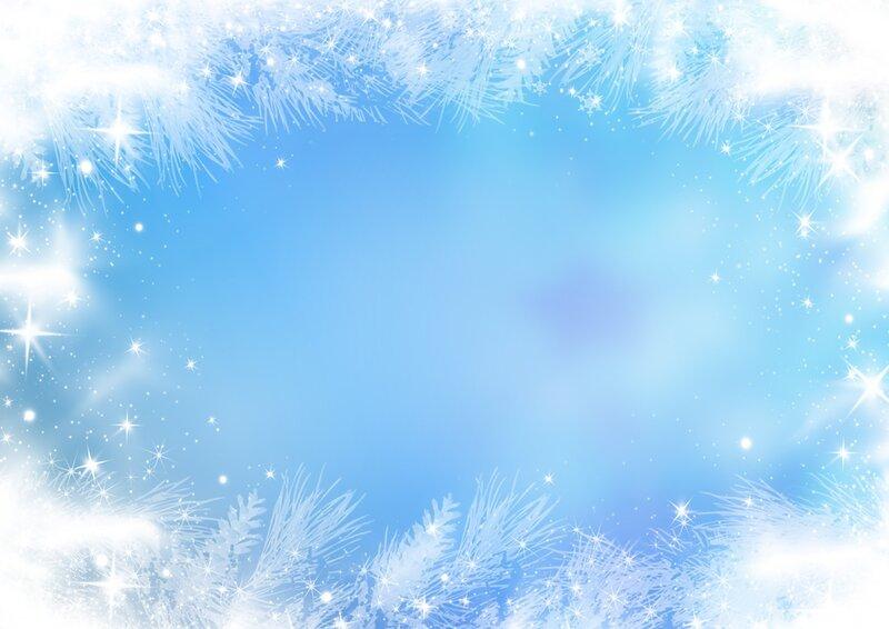 Фон снега