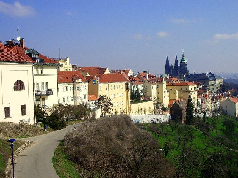 Солнечная Прага.