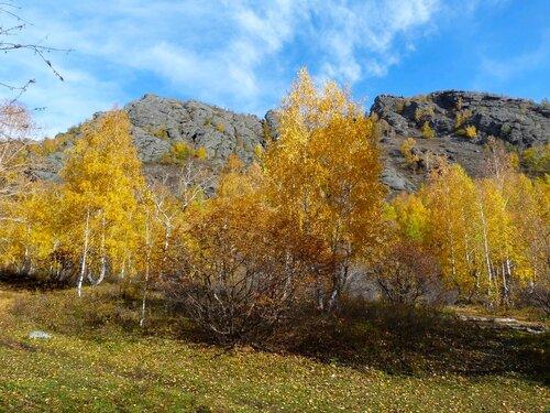 Осенью в горах