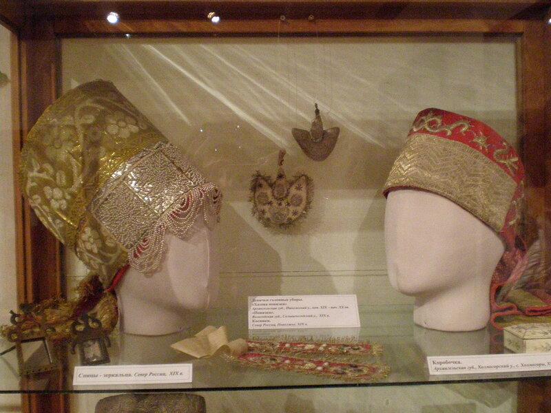 Традиционные русские головные уборы и украшения из собрания Сергиево-Посадского музея-заповедника