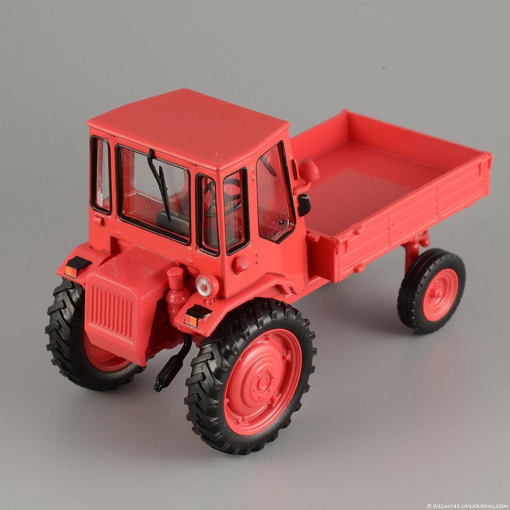 Журнальная серия тракторы люди машины №17 трактор т-54