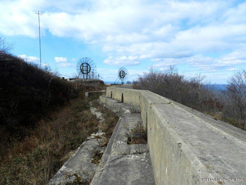 Бруствер форта №6 Владивостокской крепости. 17-октября-2011г