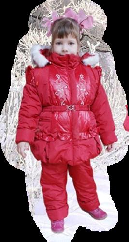 Дети и зима