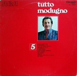 Domenico Modugno – Tutto Modugno 5 (1972) [RCA Italiana, PSL 10552-5]