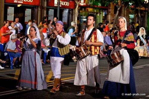 аликанте, парад костюмов
