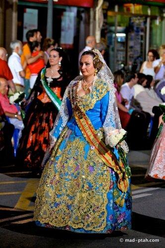 аликанте, парад платьев