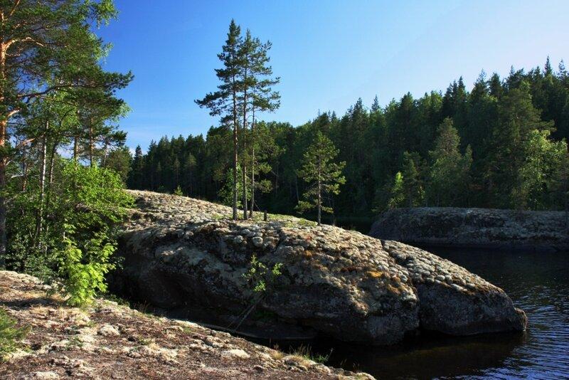Каменистые бухты Онеги