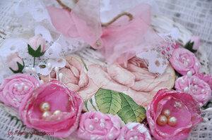 """Открытка-подвеска """"Весна в сердце"""""""