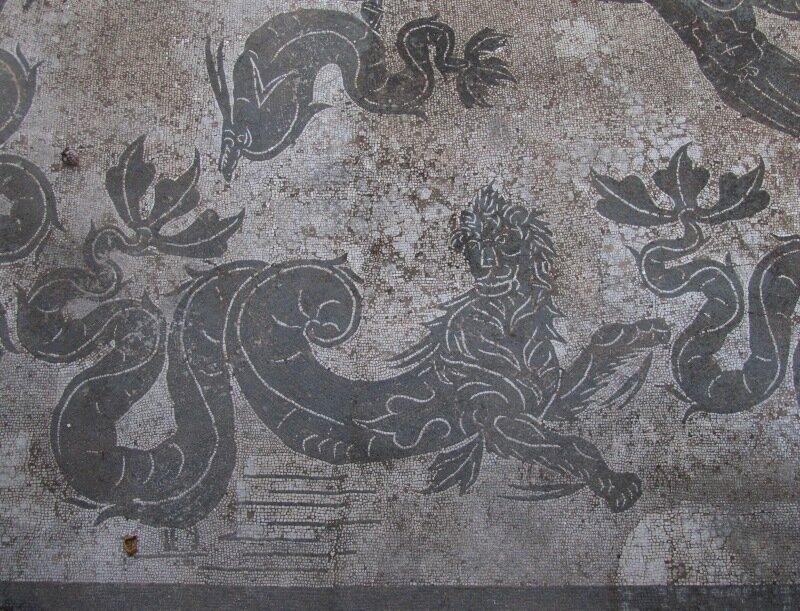 Остия. Мозаика терм Нептуна