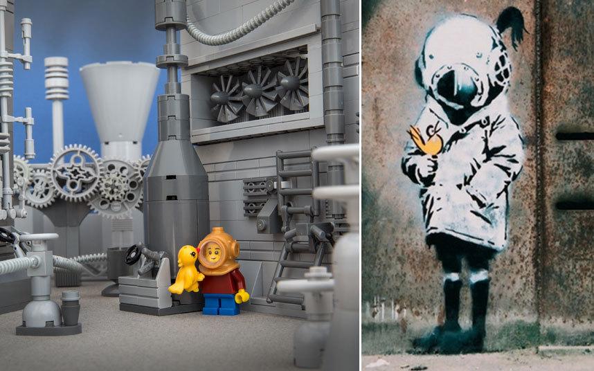 Сюжеты граффити попали в Lego