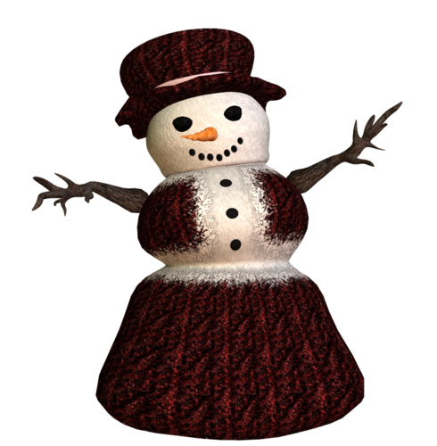 Снеговик-мама))