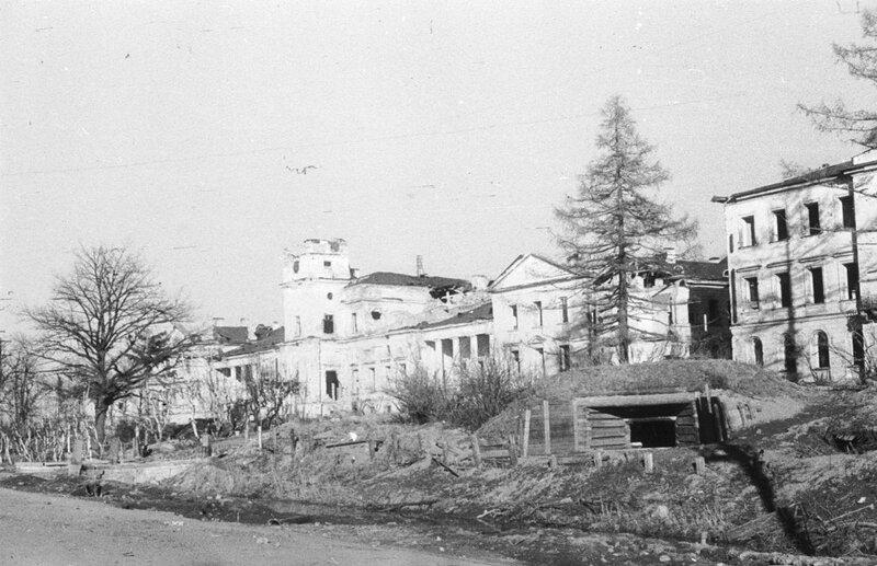 ДЗОТ у корпусов больницы имени Фореля на проспекте Стачек