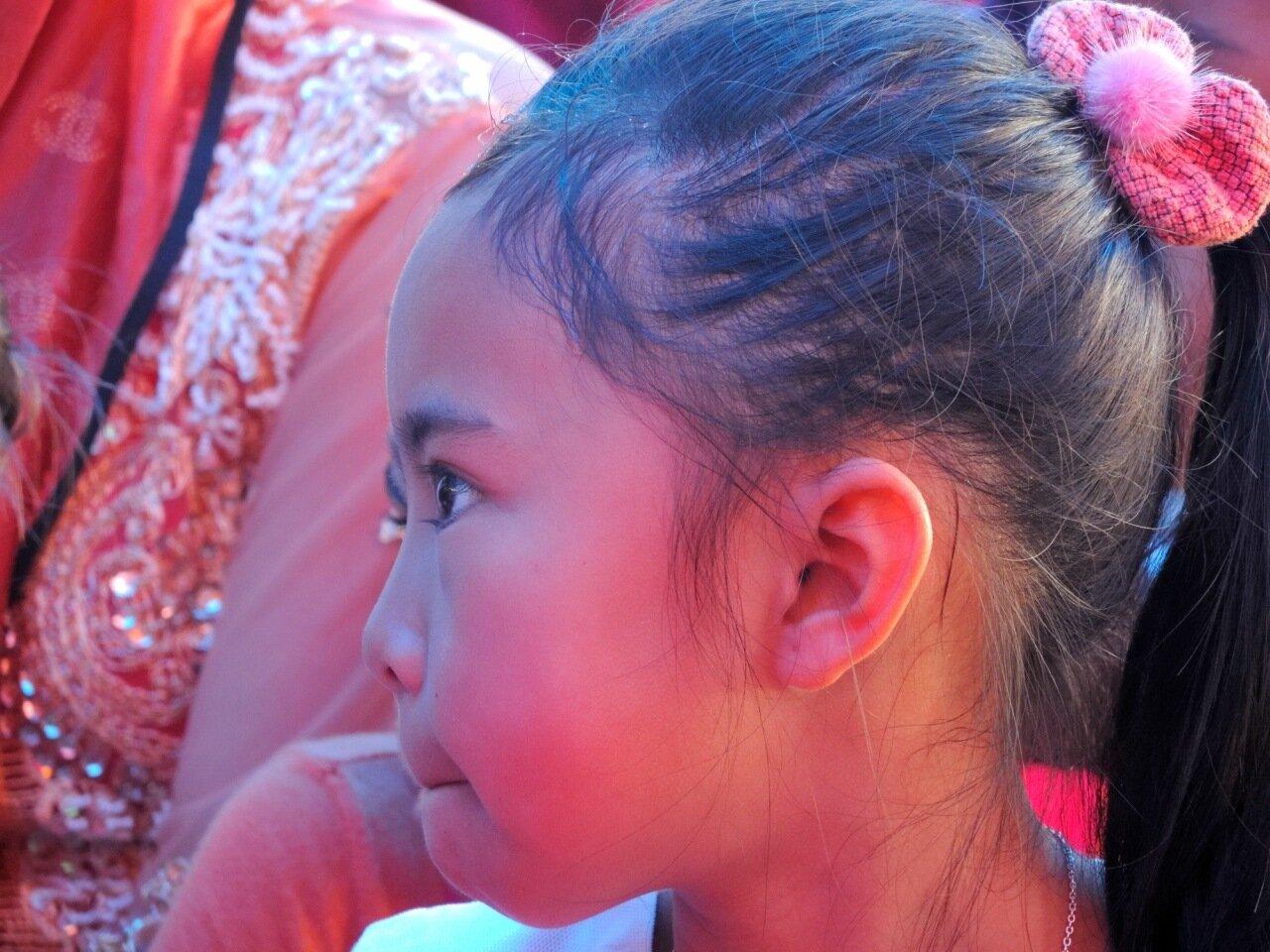 яванская девочка на свадьбе