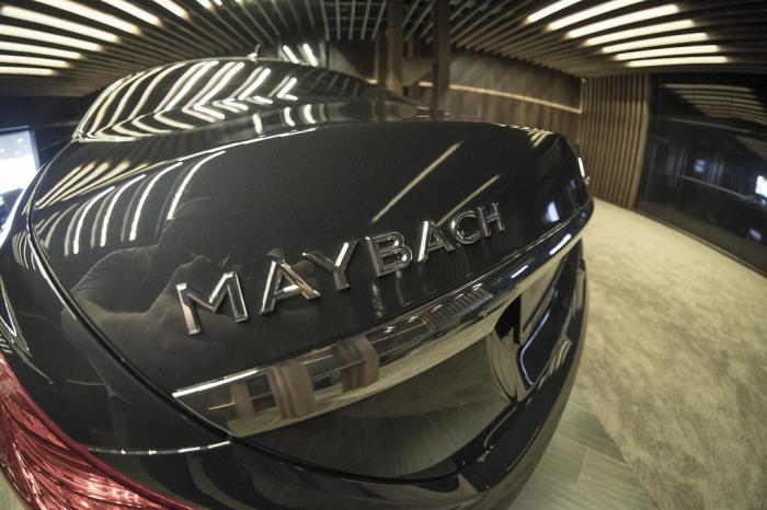Афера с автомобилем Майбах