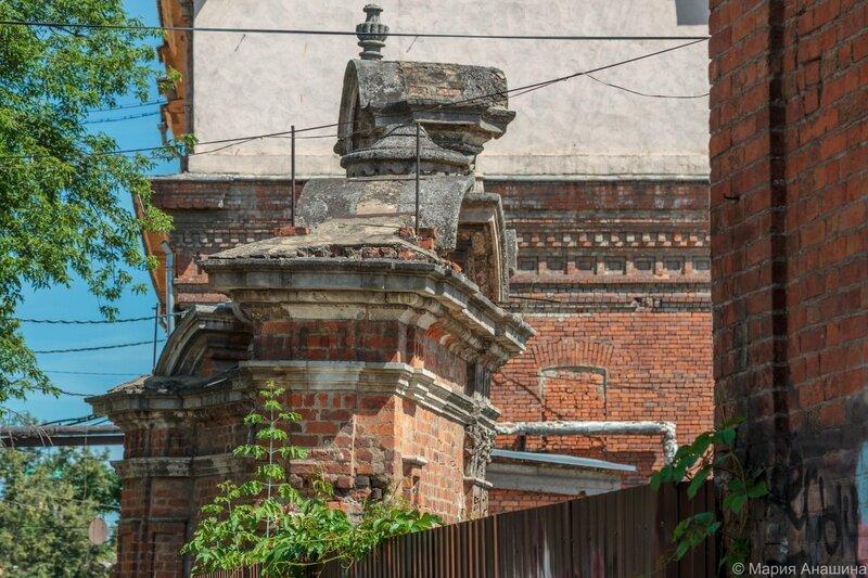 Ворота усадьбы Ливенцевых (Ломовские)