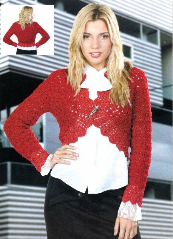 ежедневный журнал про вязание крючком * бесплатные схемы вязания уже 1889 штук с 8 марта 2009.