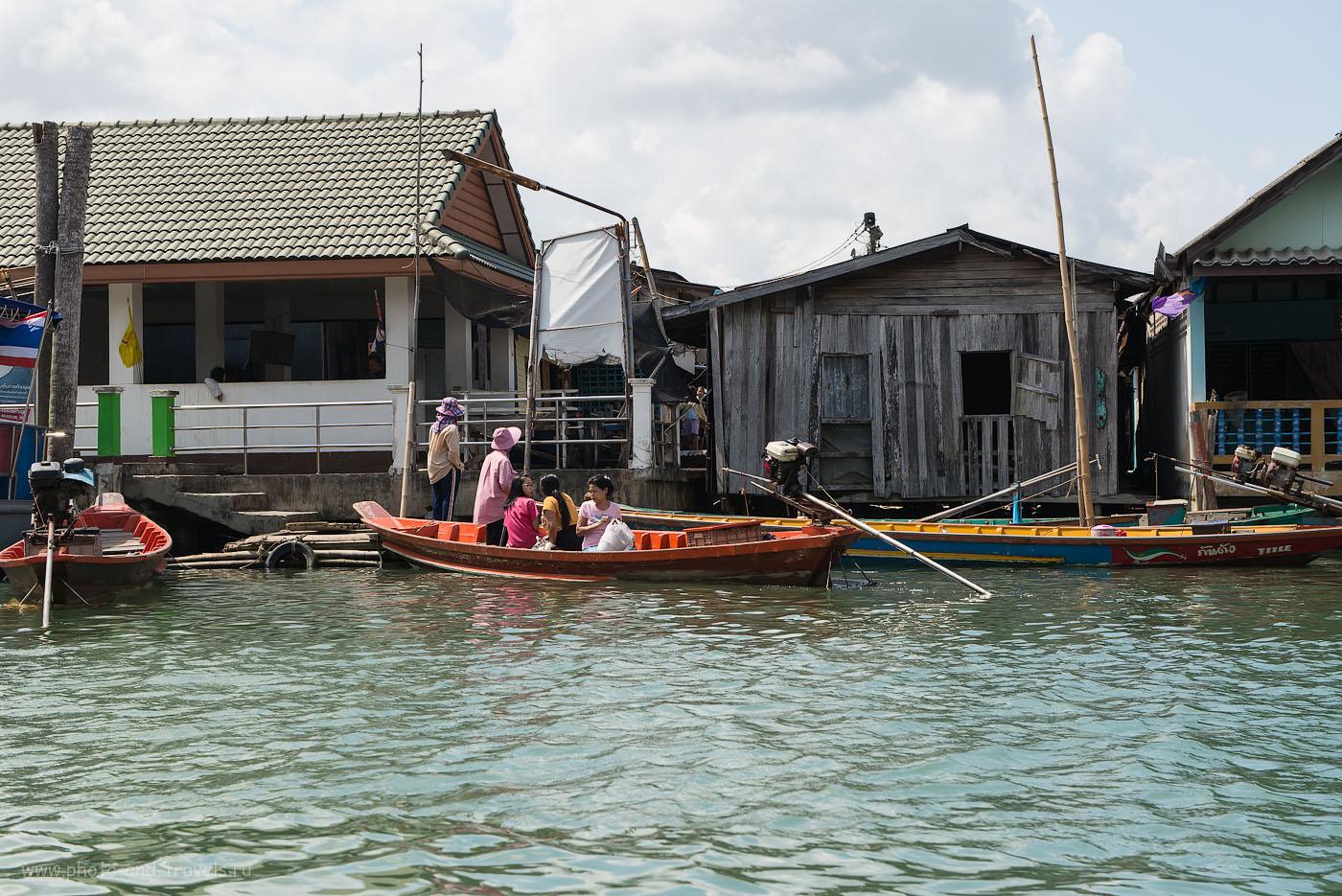 Фотография 17. Достопримечательности Таиланда. Рыбацкая деревня на окраине города Чумпхон. В район за покупками (320, 56, 8.0, 1/400)