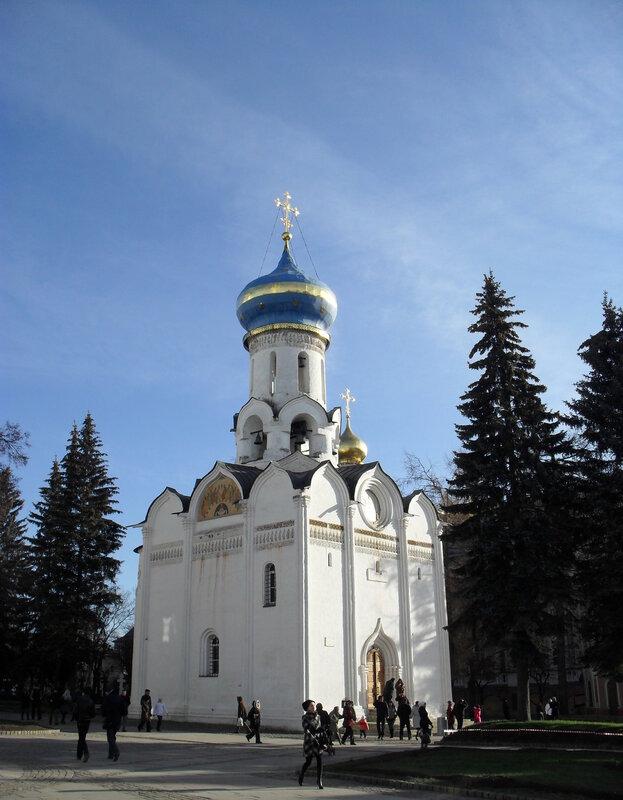 Духовская церковь. Свято-Троицкая Сергиева Лавра