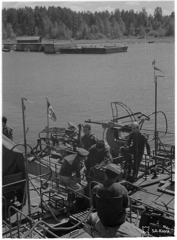 Итальянские торпедные катера на ладоге