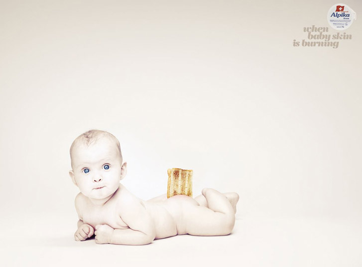 Когда кожа ребенка горит - Alpika Baby Cream