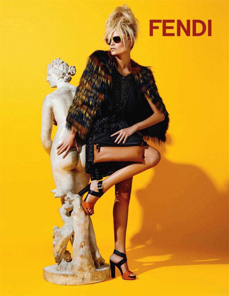 модель Наташа Поли / Natasha Poly, фотограф Karl Lagerfeld