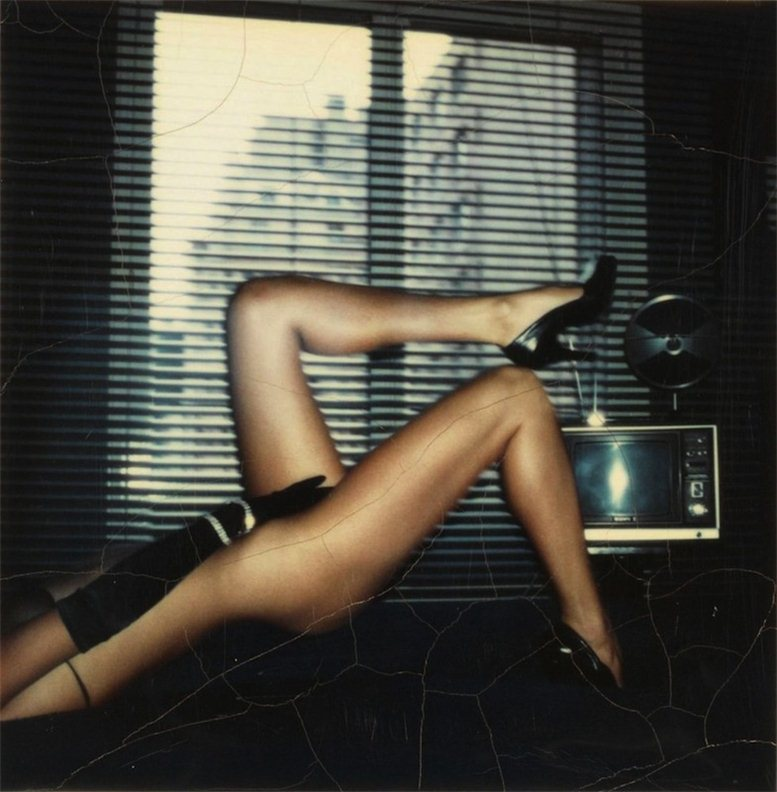 фотограф Helmut Newton - Polaroids