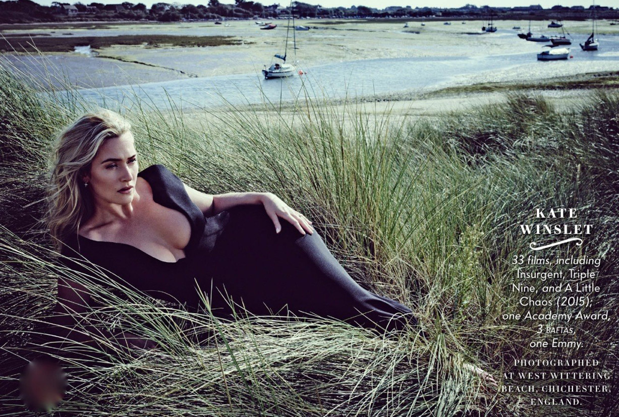 Лучшие британские актеры в проекте The 2015 Hollywood Portfolio by Jason Bell in Vanity Fair march 2015 - Кейт Уинслет / Kate Winslet