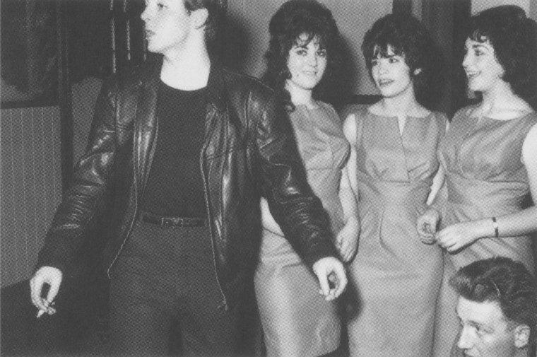 """выступление в  """"Sensational Jive Dances"""" 1961 год"""