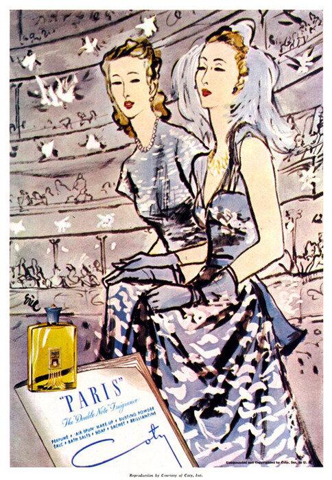 Fashion illustrations by Carl Erickson