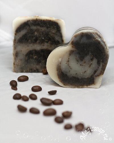 Кофейные грёзы - мыло-каппучино с нуля (рецепт и мастер-класс)