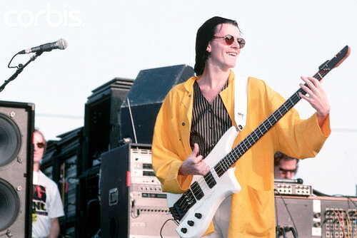 John Taylor Playing Bass