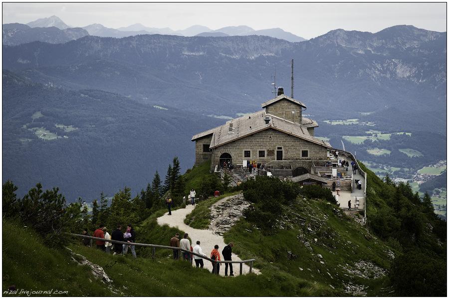 Фоторассказ об Орлином Гнезде и дорожках Баварских Альп.