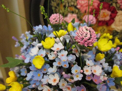 Японская полимерная глина цветы мастер класс подробно #7