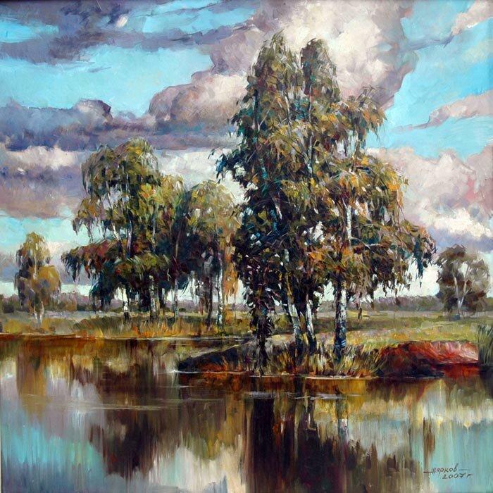 Автор картины Игорь Жарков