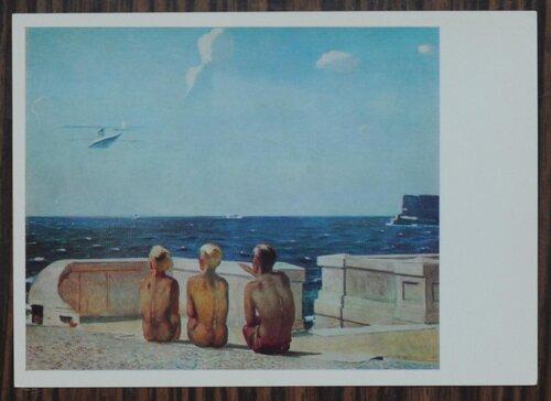 Будущие летчики. 1937