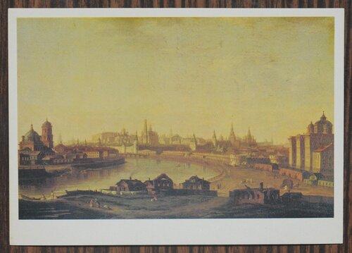 Вид Московского Кремля от Устьинского моста. 1818