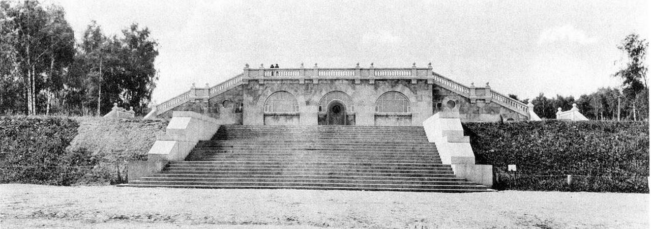 21. Павильон над Воробьевским резервуаром