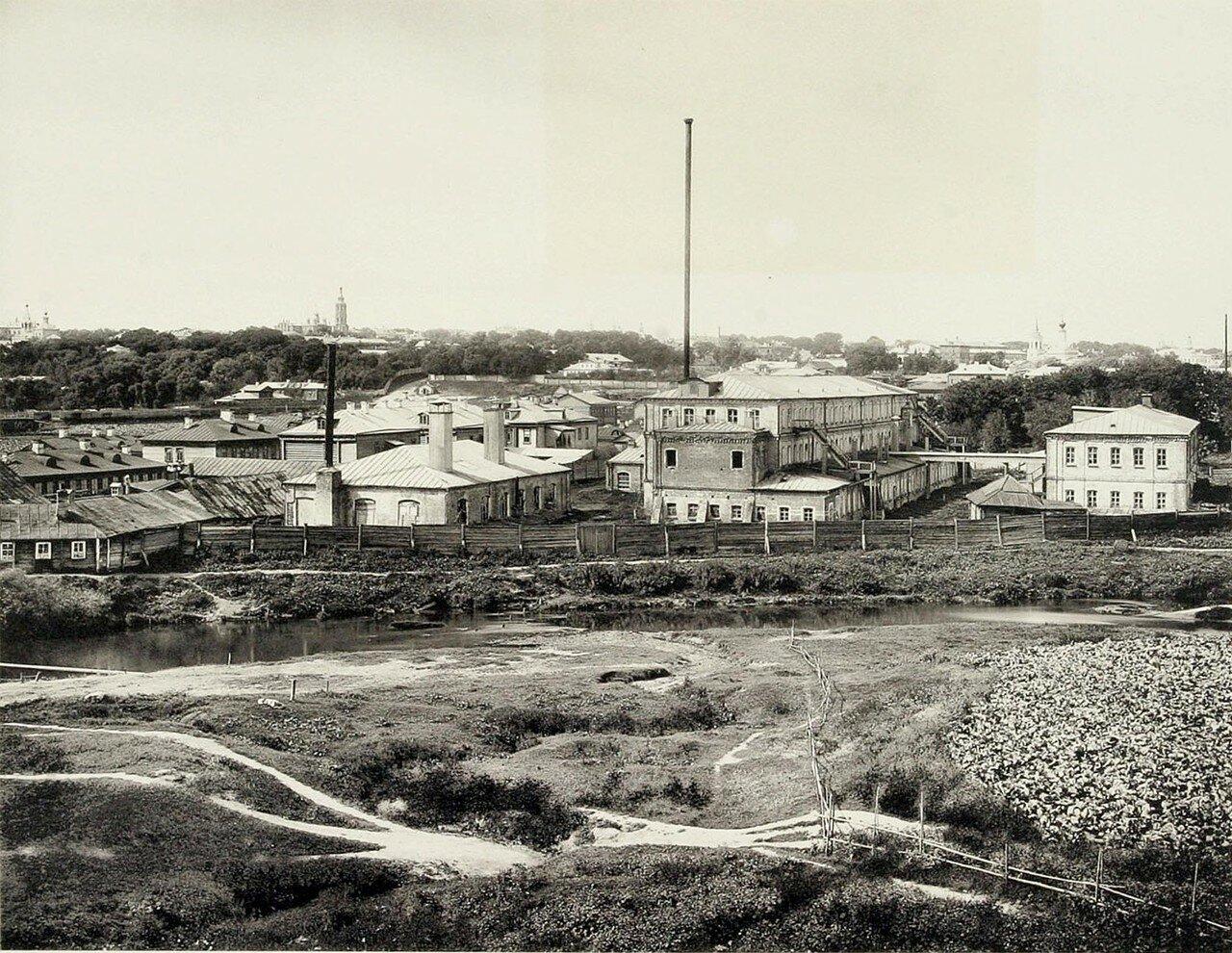352. Вид Сыромятников и берега реки Яузы